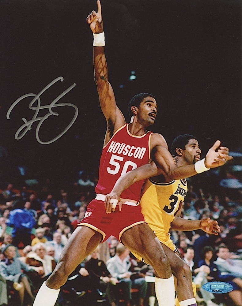 Rookie Of The Year Movie Ralph Sampson Signed R...