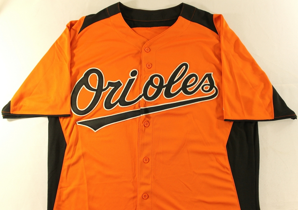 Robert Andino Orioles Robert Andino Game Used Orioles Jersey pa Loa at Pristineauction Com