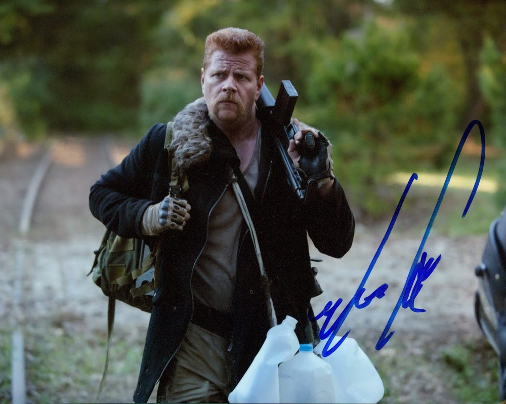 michael cudlitz signed the walking dead 8x10 photo pa. Black Bedroom Furniture Sets. Home Design Ideas