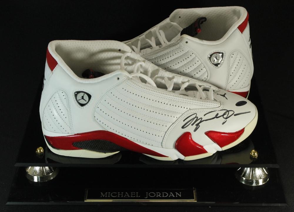 Jordan Signed Shoes