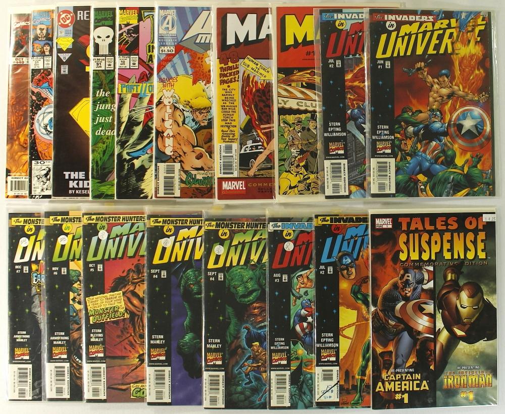 dc Comics Spiderman Marvel dc Comic Books