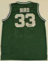 Larry Bird Signed Celtics Jersey (Bird Hologram) at PristineAuction.com