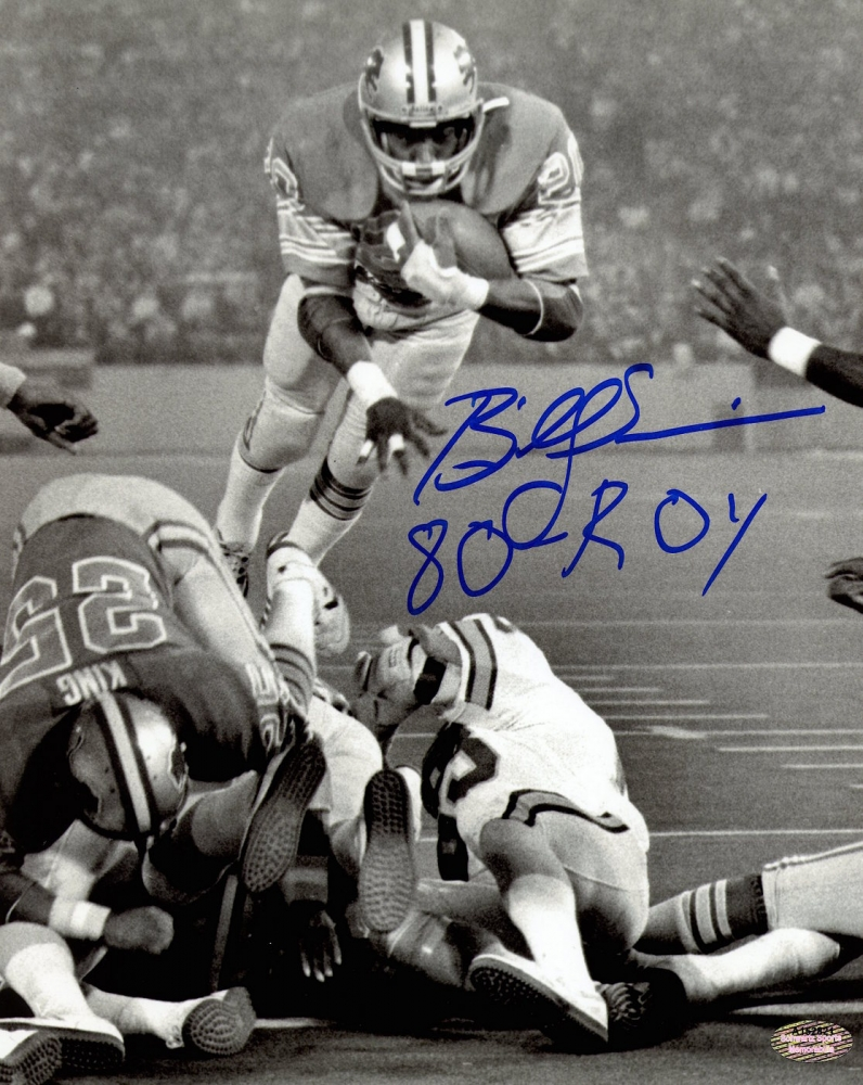 Serious? Billy sims lions lick amusing message