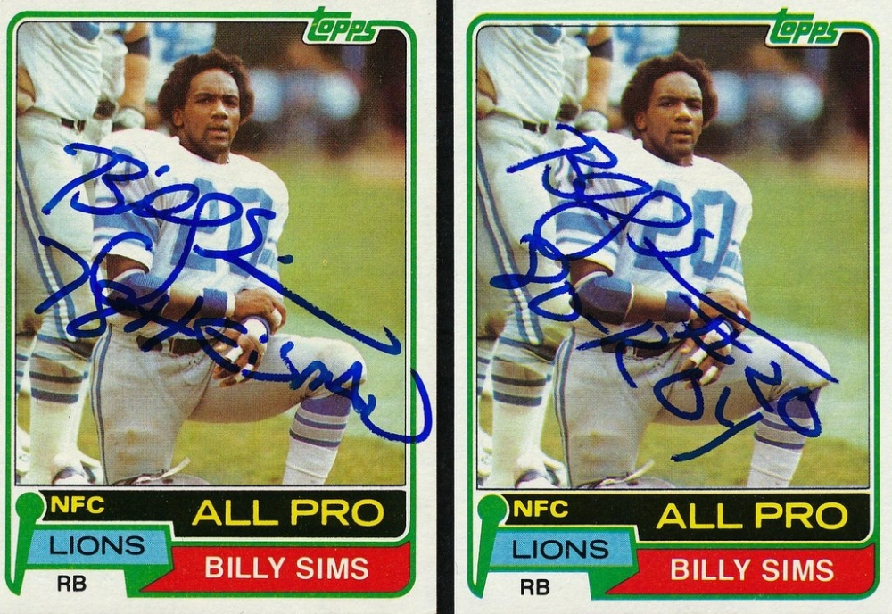 Billy sims lions lick apologise