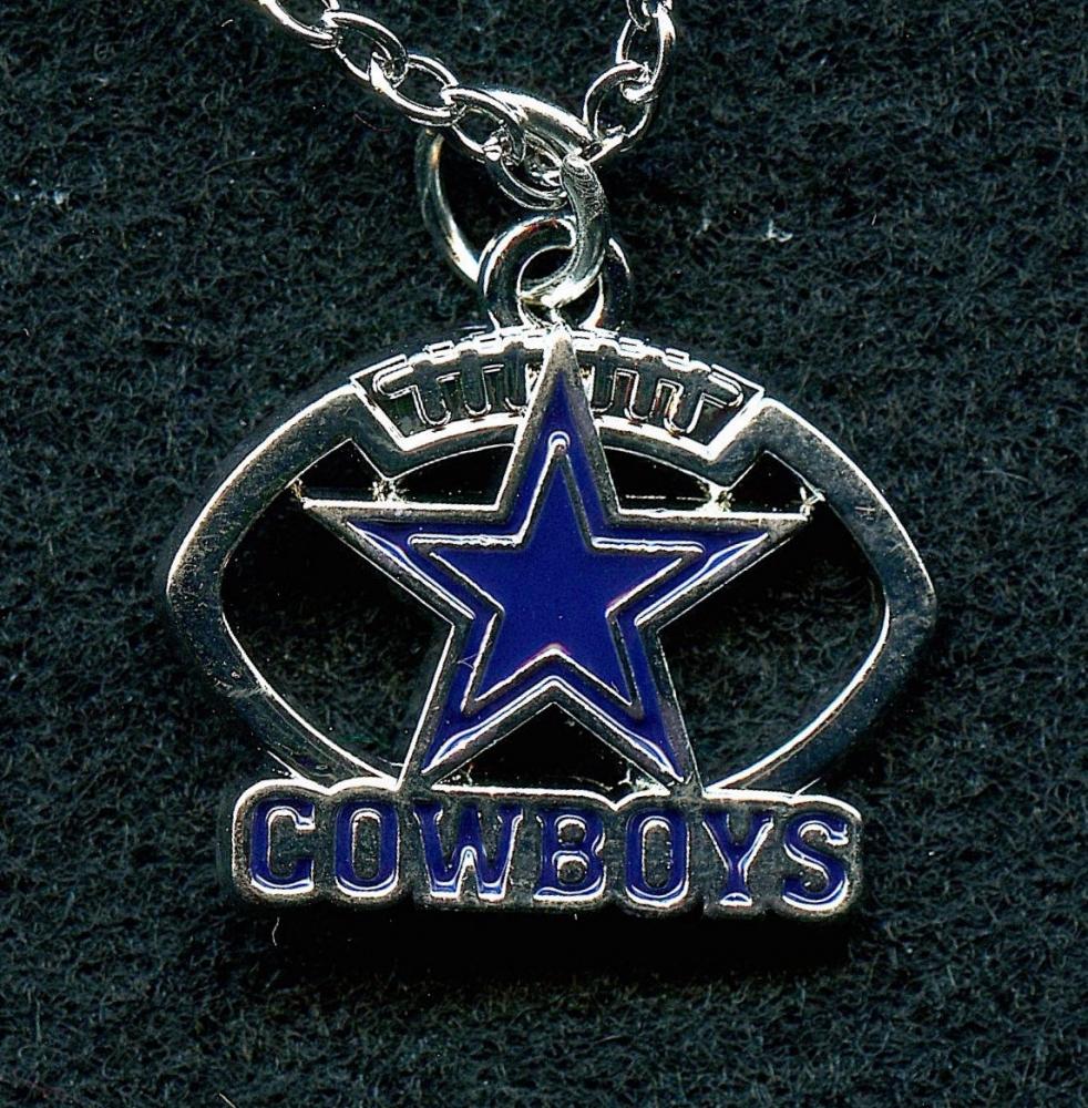 dallas cowboys pendant necklace at pristine auction