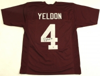 TJ Yeldon Signed Alabama Jersey Inscribed (Bama COA) at PristineAuction.com