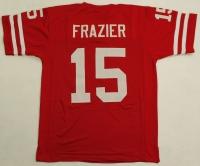 Tommie Frazier Nebraska On-Field Style Custom Stitched Jersey (Size XL) at PristineAuction.com
