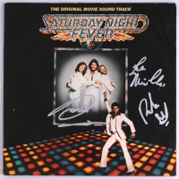 "Bee Gees Band-Signed ""Saturday Night Fever"" Record Album with Barry Gibb, Robin Gibb & Maurice Gibb (JSA ALOA) at PristineAuction.com"