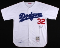 """Sandy Koufax Signed Dodgers Jersey Inscribed """"Best Wishes"""" (JSA LOA) at PristineAuction.com"""