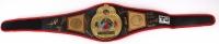 Boxing Legends Full-Size Championship Belt Signed by (12) with Oscar De La Hoya, Jake LaMotta, Aaron Pryor, Carlos Ortiz, Dwight Qawi (JSA ALOA) at PristineAuction.com