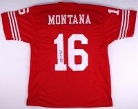 Joe Montana Signed 49ers Jersey (JSA COA) at PristineAuction.com
