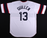 "Ozzie Guillen Signed White Sox Jersey Inscribed ""AL 85 ROY"" (JSA COA) at PristineAuction.com"