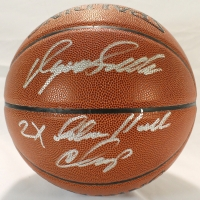"Dominique Wilkins Signed Basketball Inscribed ""2x Slam Dunk Champ"" (Schwartz COA) at PristineAuction.com"