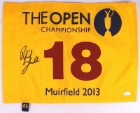Phil Mickelson Signed 2013 The Open Championship Flag (JSA LOA) at PristineAuction.com