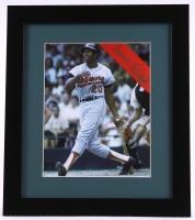 Frank Robinson Signed Orioles 13x15 Custom Framed Photo Display (PSA COA) at PristineAuction.com