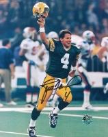 Brett Favre Signed Packers 8x10 Photo (Favre COA) at PristineAuction.com