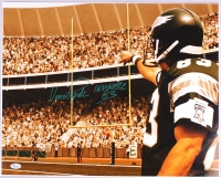 """Vince Papale Signed Eagles 16x20 Photo Inscribed """"Invincible"""" (JSA COA) at PristineAuction.com"""