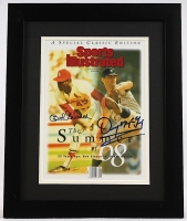 Bob Gibson & Denny McLain Signed 13x16 Custom Framed Photo (Autograph Reference COA) at PristineAuction.com