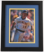Robin Yount Signed Brewers 13x16 Custom Framed Photo (Autograph Reference COA) at PristineAuction.com