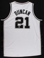 Tim Duncan Signed Spurs Jersey (JSA LOA) at PristineAuction.com