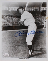 Mickey Mantle Signed Yankees 8x10 Photo (JSA LOA) at PristineAuction.com