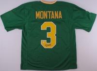 Joe Montana Signed Notre Dame Jersey (Montana Hologram) at PristineAuction.com