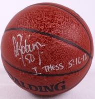 David Robinson Signed Basketball (JSA COA) at PristineAuction.com