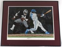 "Bo Jackson Signed Raiders 32"" x 40"" Custom Framed Lithograph (AR COA) at PristineAuction.com"