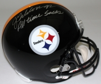 "Jason Gildon Signed Steelers Full-Size Helmet Inscribed ""All Time Sacks""  (JSA COA) at PristineAuction.com"
