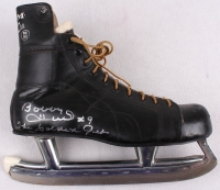 "Bobby Hull Signed Vintage 1960's Ice Skate Inscribed ""The Golden Jet"" (PSA COA) at PristineAuction.com"