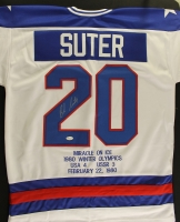 "Bob Suter Signed Team USA ""Miracle on Ice"" Jersey (JSA COA) at PristineAuction.com"