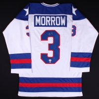 "Ken Morrow Signed 1980 Team USA ""Miracle on Ice"" Jersey (JSA & SI Hologram) at PristineAuction.com"