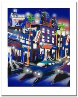 """James Talmadge """"Hollywood Hotel"""" Signed Limited Edition 23"""" x 28.5"""" Serigraph on Paper #AP (Artist Proof) at PristineAuction.com"""