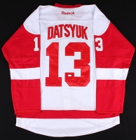 Pavel Datsyuk Signed Red Wings Jersey (JSA COA) at PristineAuction.com