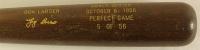 "Yogi Berra & Don Larsen Signed ""1956 World Series Perfect Game"" LE Louisville Slugger Baseball Bat Inscribed ""HOF 1972"" (PSA COA) at PristineAuction.com"