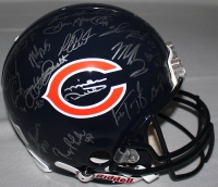 1985 Chicago Bears Team Signed Super Bowl XX Champs Logo Authentic Helmet Signed By (30) With Mike Ditka, Jim McMahon, Mike Singletary, Richard Dent (Schwartz COA) at PristineAuction.com