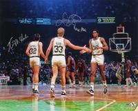 Larry Bird, Kevin McHale & Robert Parish Signed Celtics 16x20 Photo (Schwartz COA) at PristineAuction.com