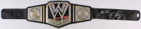 """Ric Flair Signed WWE Full-Size Champion Belt Inscribed """"Nature Boy"""" & """"16x"""" (JSA COA) at PristineAuction.com"""