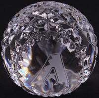 Arizona Diamondbacks Waterford Crystal Baseball at PristineAuction.com