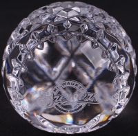 Milwaukee Brewers Waterford Crystal Baseball at PristineAuction.com