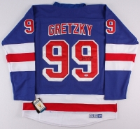 Wayne Gretzky Signed Rangers Jersey (PSA LOA) at PristineAuction.com