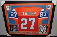 Steve Atwater Signed Broncos 35x43 Custom Framed Jersey (JSA COA) at PristineAuction.com