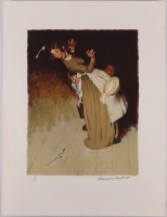 Norman Rockwell Signed 19 x 25 LE Lithograph (PSA LOA) at PristineAuction.com