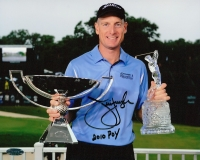 """Jim Furyk Signed 8x10 Photo Inscribed """"POY 2010"""" (Honabach & Sons COA) at PristineAuction.com"""