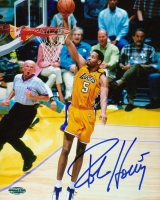 Robert Horry Lakers Signed 8x10 Photo (Honabach & Sons COA) at PristineAuction.com