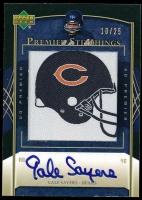Gale Sayers 2007 Upper Deck Premier Stitchings Autographs #PS40 at PristineAuction.com