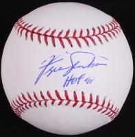 "Fergie Jenkins Signed OML Baseball Inscribed ""HOF 91"" (JSA COA) at PristineAuction.com"