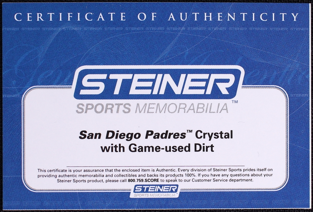 Online sports memorabilia auction pristine auction for Used jewelry san diego