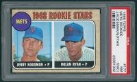 Jerry Koosman & Nolan Ryan 1968 Topps #177 Rookie Stars (PSA 7) (MC) at PristineAuction.com