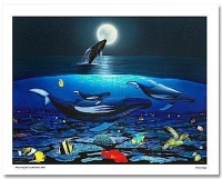 """Wyland """"The Living Sea"""" Signed Limited Edition 27"""" x 20"""" Giclee on Canvas #181/750 (Wyland COA) at PristineAuction.com"""